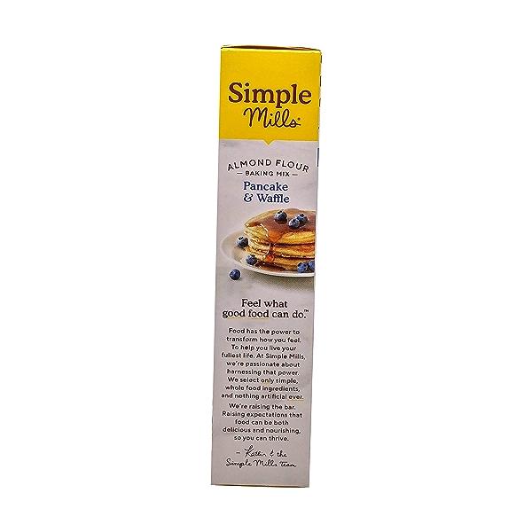 Pancake & Waffle Almond Flour Mix, 10.7 oz 4