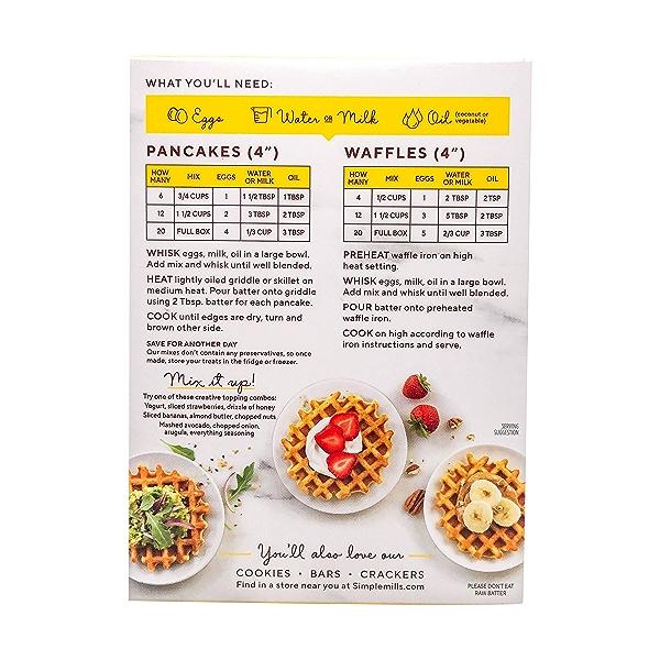 Pancake & Waffle Almond Flour Mix, 10.7 oz 3