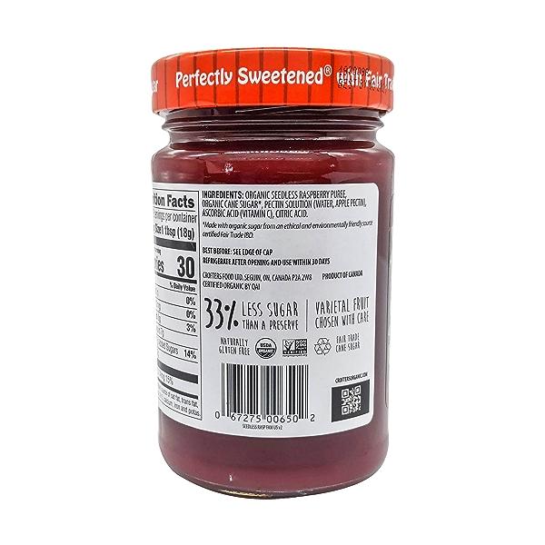 Organic Raspberry Premium Fruit Spread, 16.5 oz 3