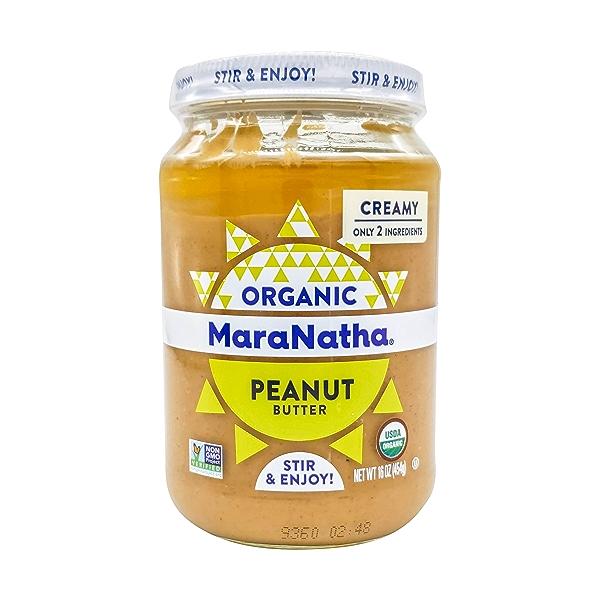 Organic Creamy Peanut Butter, 16 oz 1