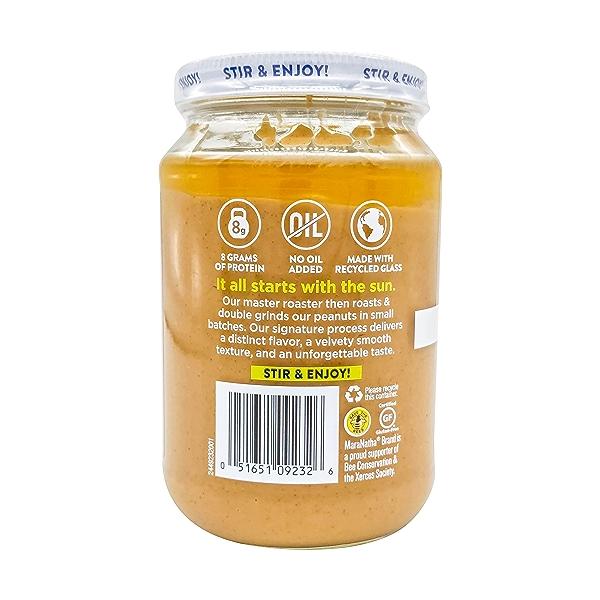 Organic Creamy Peanut Butter, 16 oz 3