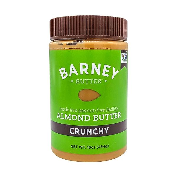 Crunchy Almond Butter, 16 oz 1