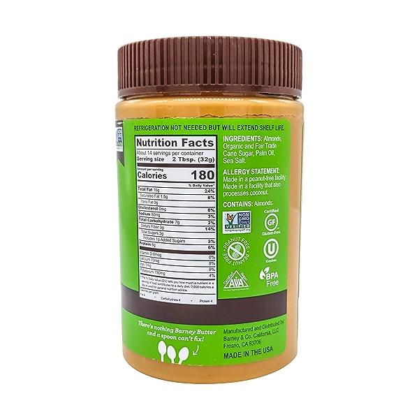 Crunchy Almond Butter, 16 oz 2
