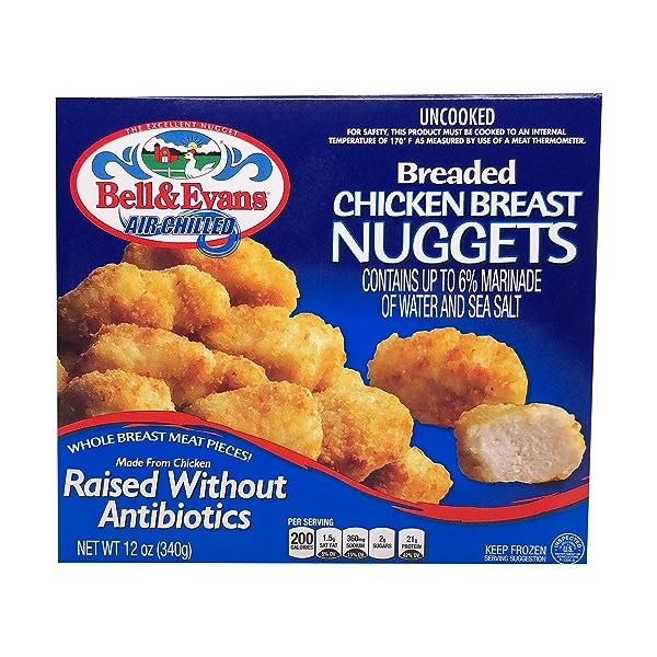 Breaded Chicken Breast Nuggets 1