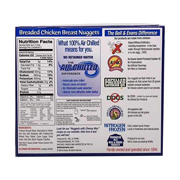 Breaded Chicken Breast Nuggets 2