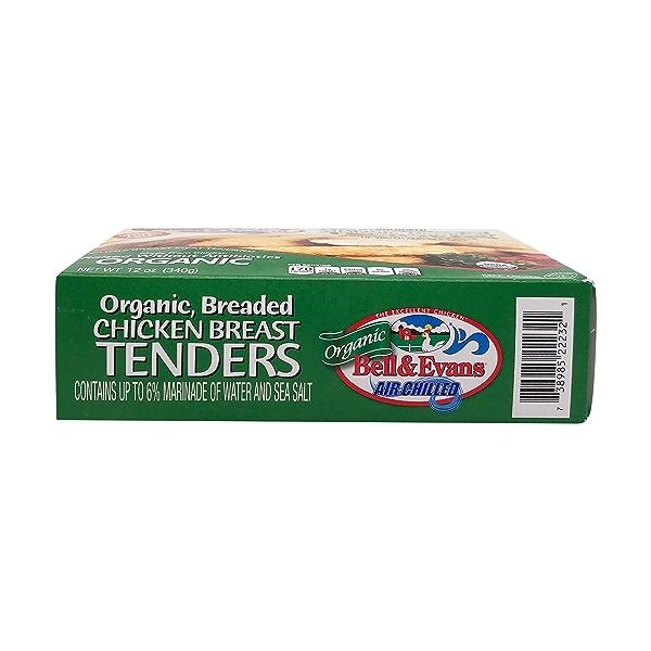 Organic Breaded Chicken Breast Tenders 4
