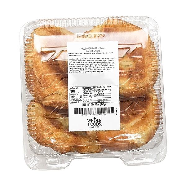 Vegan Croissants, 4 count 5