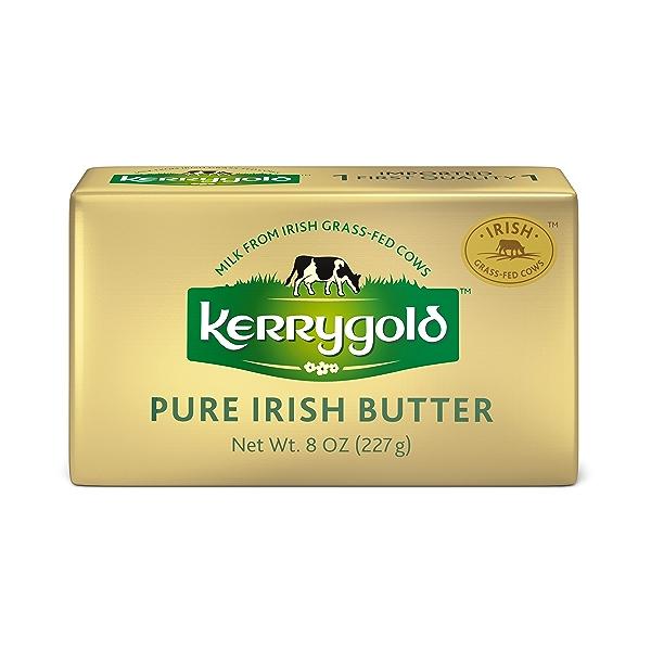 Grass-Fed Pure Irish Salted Butter Foil, 8 oz. 1