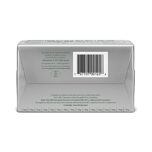 Grass-Fed Pure Irish Unsalted Butter Foil, 8 Oz. 2