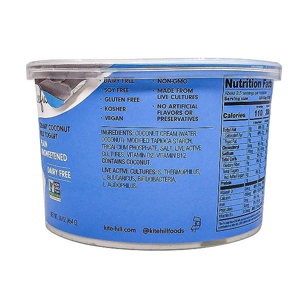 Plain Unsweetened Yogurt, 16 oz 3