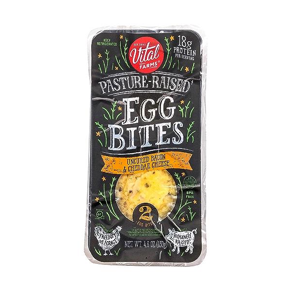 Bacon Cheddar Egg Bites, 4.6 oz 1