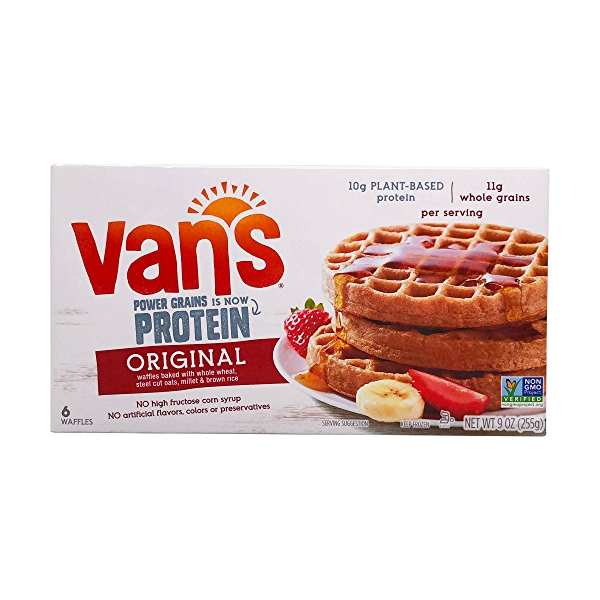 Totally Original Power Grains Waffles, 9 oz 1