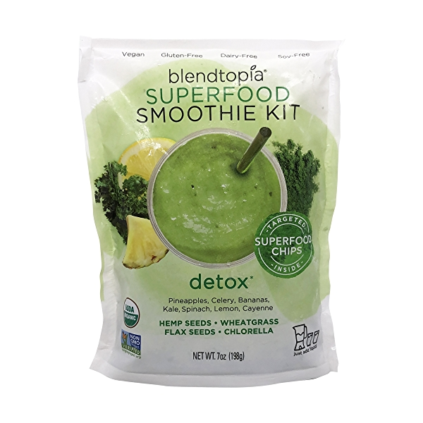 Smoothie Detox Superfood Nat, 7 oz 1