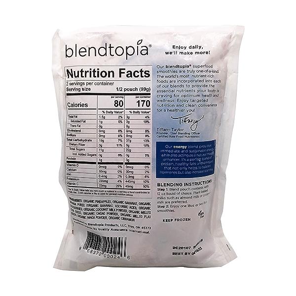 Energy Superfood Smoothie Blend, 7 oz 2