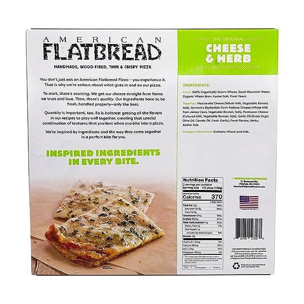 Cheese & Herb Flatbread, 13.8 oz 2