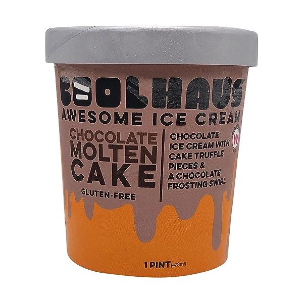 Chocolate Molten Cake Ice Cream, 1 each 1