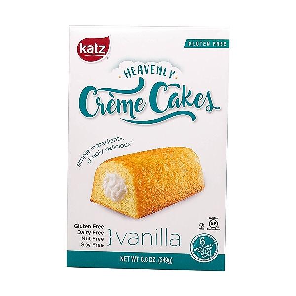 Vanilla Heavenly Crème Cakes 6ct, 8.8 oz 1