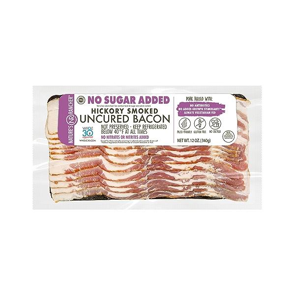 No Sugar Added Hickory Smoked Bacon 1