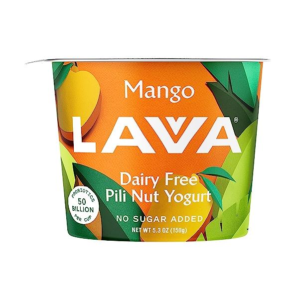 Dairy Free Pili Nut Yogurt Mango, 5.3 oz 1
