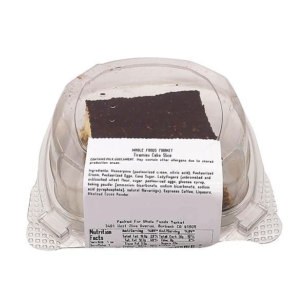 Tiramisu Cake Slice, 3 oz 2