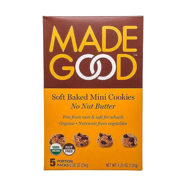 Organic Soft Baked Mini Cookies, 4.25 oz 1