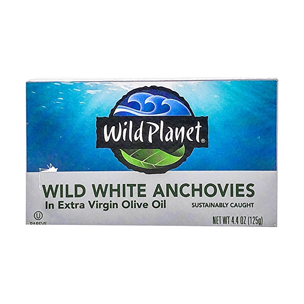 Wild Anchovies in Evoo 1