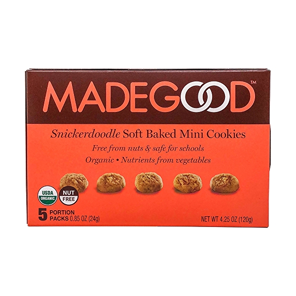 Organic Soft Baked Mini Snickerdoodle Cookies, 4.25 oz 3
