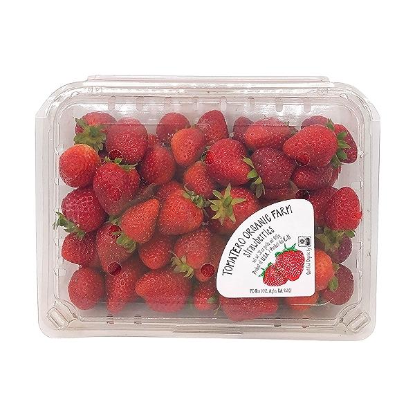 Organic Strawberries 1