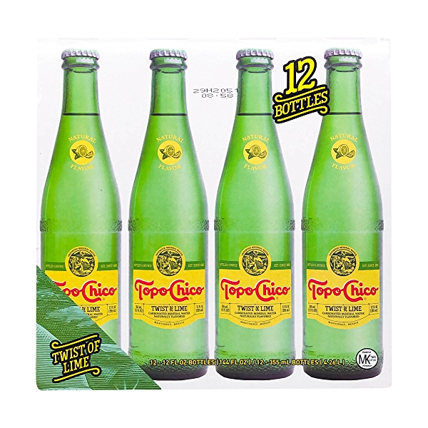 Lime Mineral Water 12 Pack 1