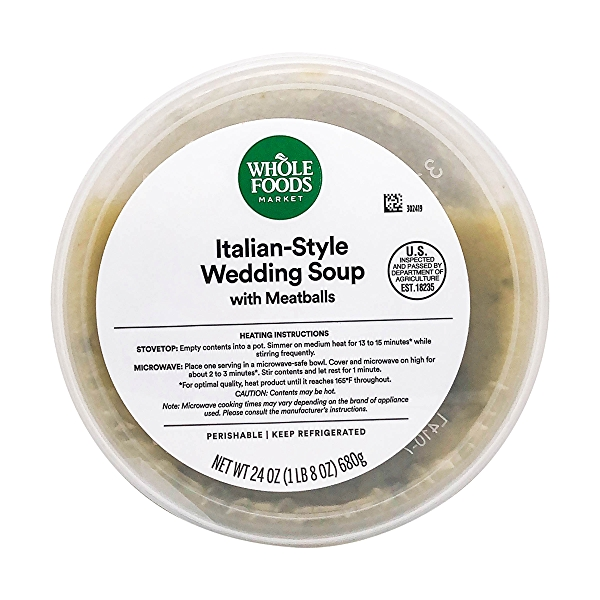 Italian Wedding Soup, 24 oz 4