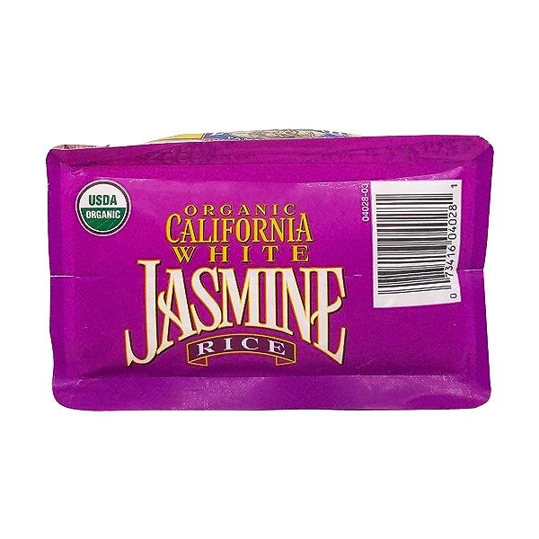 Organic California White Jasmine Rice, 32 oz 5