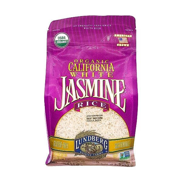 Organic California White Jasmine Rice, 32 oz 1
