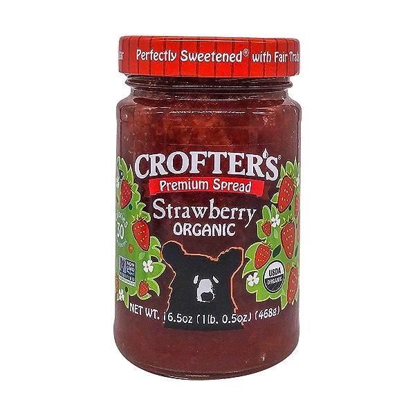 Organic Strawberry Premium Fruit Spread, 16.5 oz 1