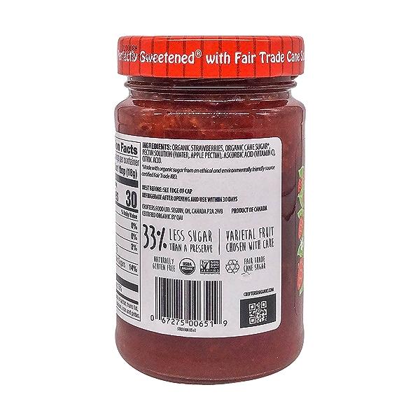 Organic Strawberry Premium Fruit Spread, 16.5 oz 3
