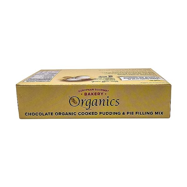 Organic Chocolate Pudding Mix, 3.5 oz 3