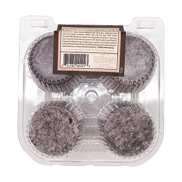 Vegan Chocolate Blackout Cupcakes, 10 oz 3