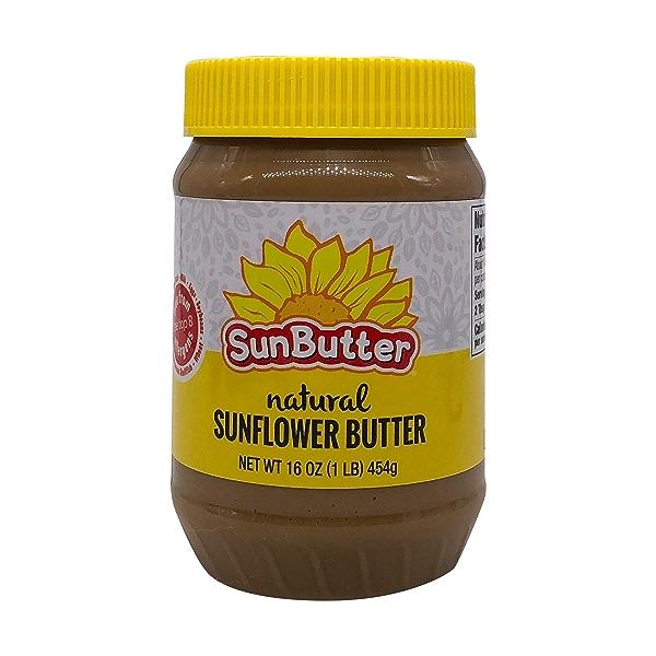 Natural Sunflower Butter, 16 oz 1