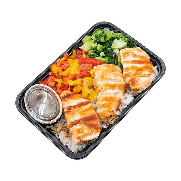 Salmon Teriyaki Bowl, 14 oz 2