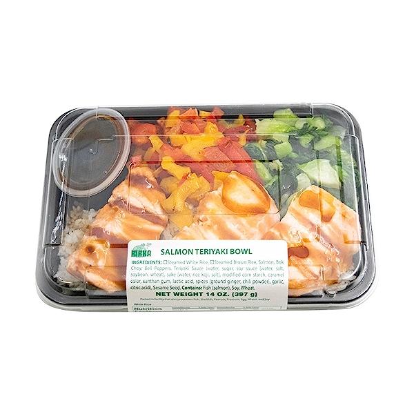 Salmon Teriyaki Bowl, 14 oz 3