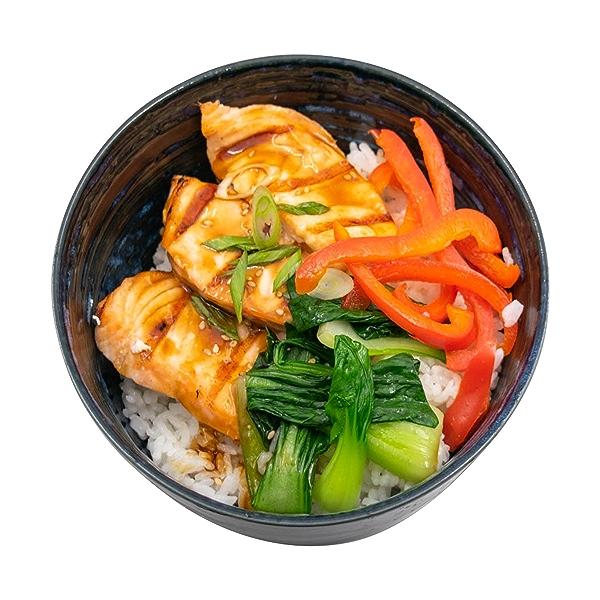 Salmon Teriyaki Bowl, 14 oz 4