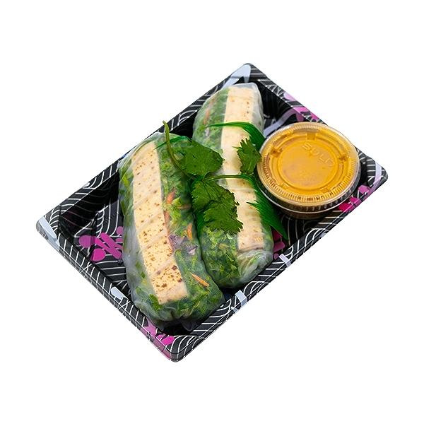 Tofu Spring Roll, 6 oz 2