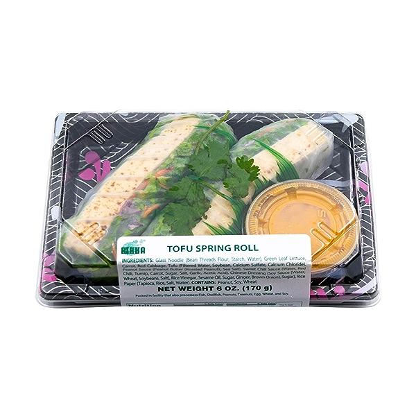 Tofu Spring Roll, 6 oz 3