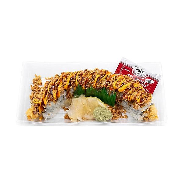 Shrimp Tempura Crunch Roll, 8 oz 1
