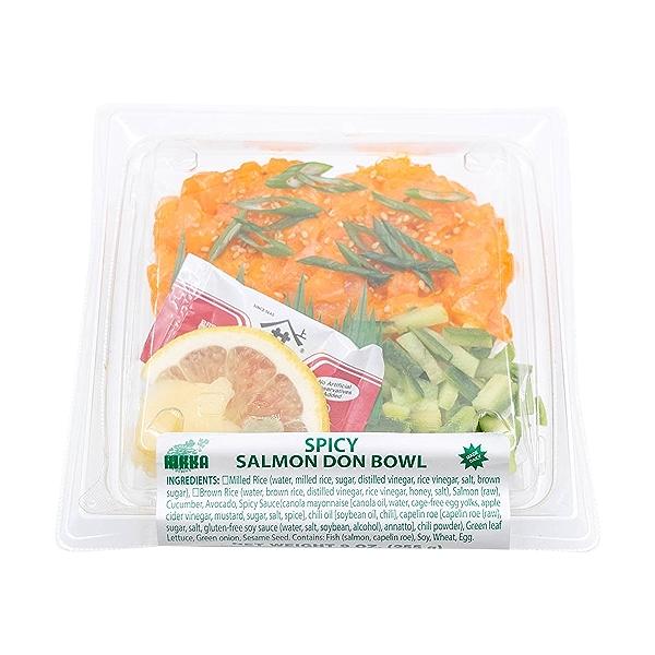 Spicy Salmon Don Bowl, 9 oz 3