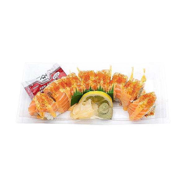 Spicy Sriracha Salmon Roll, 8 oz 1