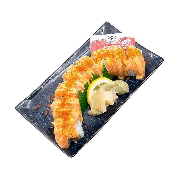 Spicy Sriracha Salmon Roll, 8 oz 4