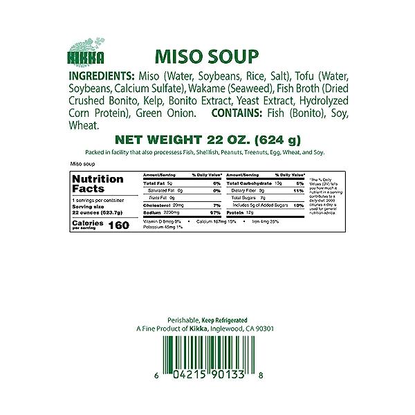 Miso Soup, 22 oz 3