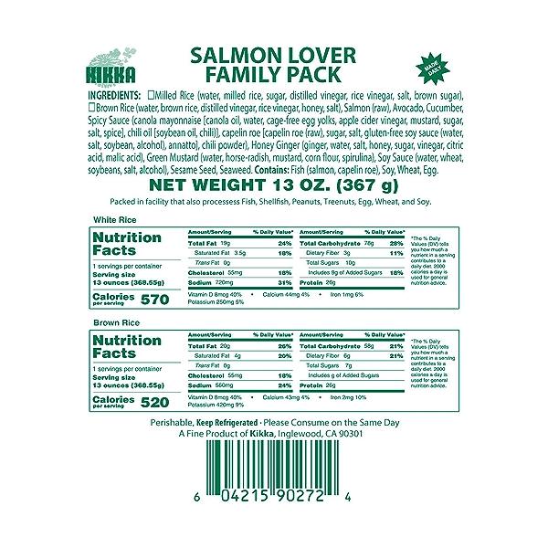 Salmon Lover Family Pack, 13 oz 5