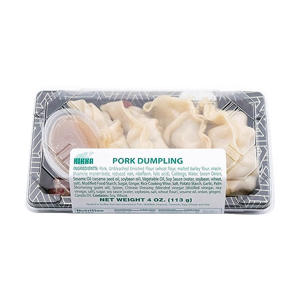 Pork Dumplings, 4 oz 3