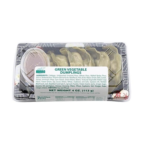 Green Veggie Dumplings, 4 oz 3